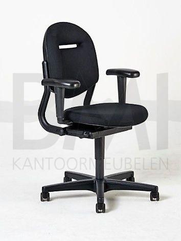 Bureaustoel Ahrend 220 refurbished zwart