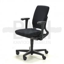 Bureaustoel Ahrend 230 hoge rug refurbished zwart