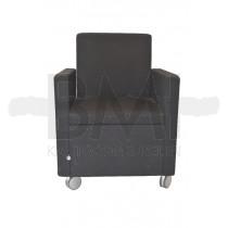 fauteuil designerstoel comforto haworth zwart