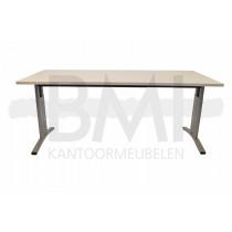 Bureau Entrada 180 x 80 cm wit / aluminium