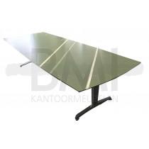 Vergadertafel Twinform Groen/aluminium