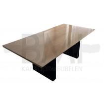 Vergadertafel Kinnarps Houd fineer licht beuken/zwart