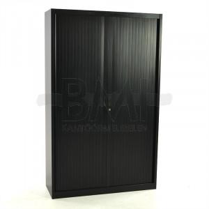 Roldeurkast Drentea 198 x 120 x 45 zwart