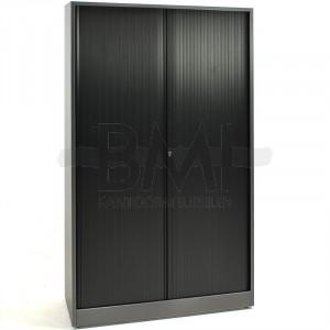 Roldeurkast Ahrend 198 x 120 x 45 antraciet / zwart